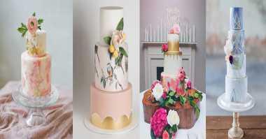 Wedding Cake Lukis Diprediksi Jadi Tren Kue Pernikahan di 2017