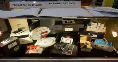 Barang Hasil Sitaan KPK Akan Dilelang Pada Peringatan Hari HAKI di Pekanbaru