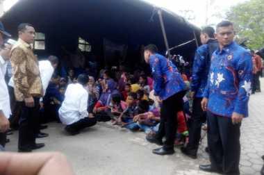 Jokowi Kunjungi Posko Pengungsian Korban Gempa Pidie Jaya Aceh