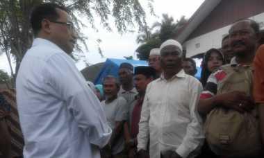 Kunjungi Posko Pengungsian, Menhub Dicurhati Detik-Detik Gempa
