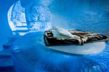 TOP TRAVEL 3: Sensasi Menginap di Hotel Bersuhu di Bawah Nol Derajat