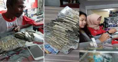 Kisah Bapak Beli Handphone Gunakan Uang Pecahan Rp2.000 Mengharukan Netizen