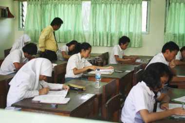 Ujian Nasional, Siswa Paling Sulit Kerjakan Soal MIPA