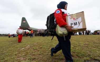 Empat Maskapai Penerbangan Gratiskan Relawan ke Aceh