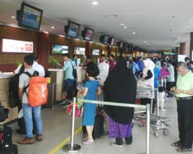 Libur Panjang, Bandara Pekanbaru Mulai Dipadati Pelancong
