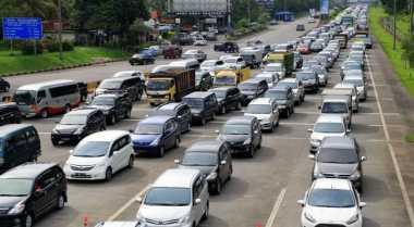 Peningatan Volume Kendaraan di Palimanan Cirebon Mulai Terlihat