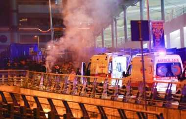 Ledakan Bom Dekat Stadion Sepak Bola Istanbul Tewaskan 13 Orang