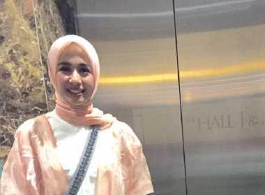 Laudya Chintya Bella Jatuh Cinta dengan Rancangan Ria Miranda