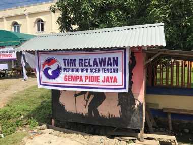 Perindo Siap Bantu Recovery Korban Gempa Aceh