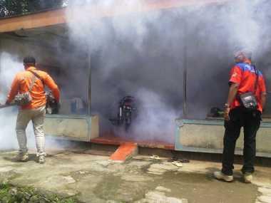 Rescue Perindo Fogging Wilayah Endemis DBD di Semarang