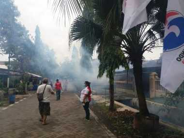 Rescue Perindo Jateng Fogging 350 Rumah Warga Krobokan