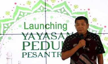 Pesantren Tarbiyatul Huda Cikereteg Sambut Baik Yayasan Peduli Pesantren