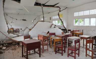 Sekolah Rusak Pascagempa, Disdik Akan Dibangun Tenda Darurat