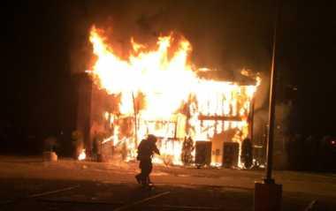 VIDEO: Pusat Kajian Islam di Seattle Terbakar, Satu Pelaku Ditangkap