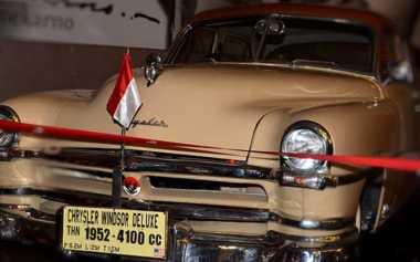 TOP FILES: Mobil dan Heli Bung Karno yang Tersimpan Apik di Museum Angkut