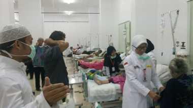 Puluhan Calon Petugas Kesehatan Haji Sumbar Jalani Tes Kebugaran