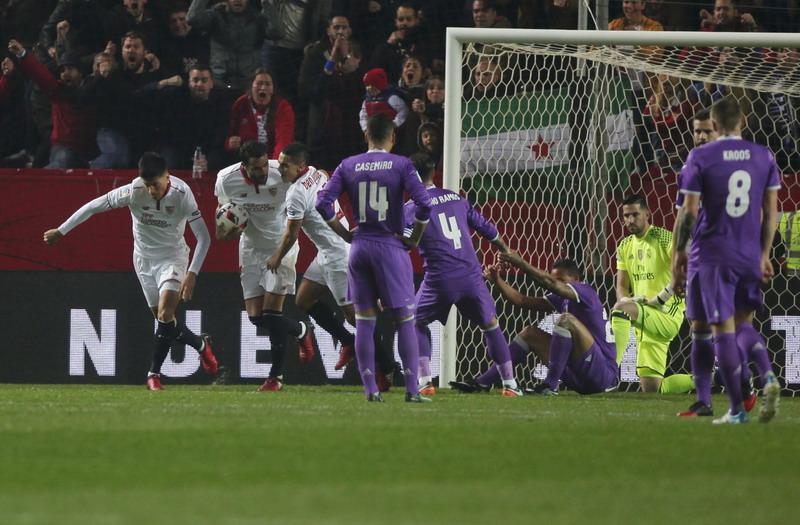 Dikalahkan Sevilla, Real Madrid Gagal Lewati Rekor Juventus