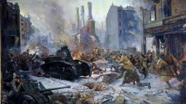 HISTORIPEDIA: PD II, Uni Soviet Merebut Warsawa dari Tangan Jerman