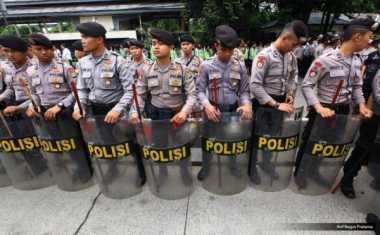 Amankan Sidang Ahok, Polisi Buat Empat Ring Penjagaan