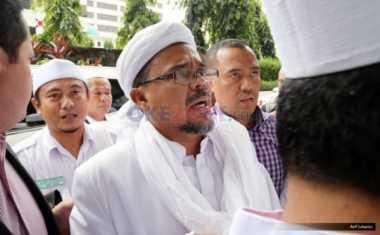 Soal Lambang Palu Arit, Pekan Depan Habib Rizieq Dipanggil Polisi
