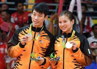 Dua Peraih Perak Olimpiade Rio Batal Tampil di Malaysia Masters 2017