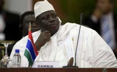Presiden Petahana Gambia,Tetapkan Status Darurat Sebelum Pengalihan Kekuasaan