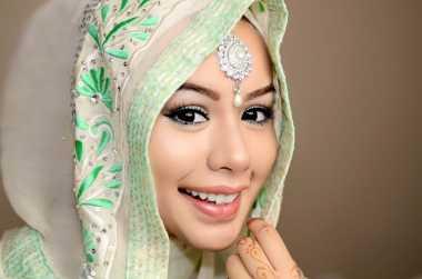 Padu-padan Hijab untuk Gaun Pengantin Muslimah