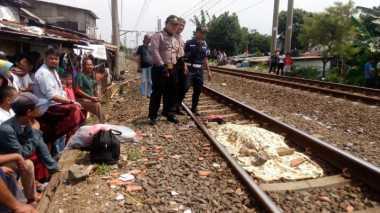 Hendak Buang Sampah, Kakek Tewas Tertabrak KRL di Bintaro