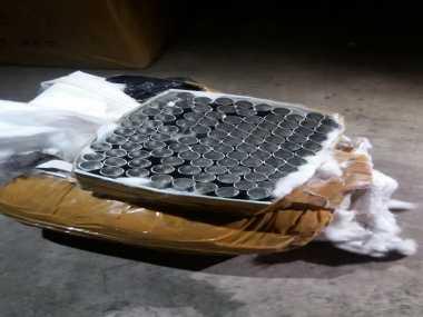 Coba Kelabui Petugas, Ratusan Detonator Terbungkus Roti dan Kapas