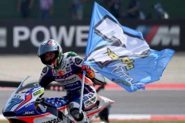 Lorenzo Baldassarri Ingin Bela Tim Valentino Rossi jika Tampil di MotoGP