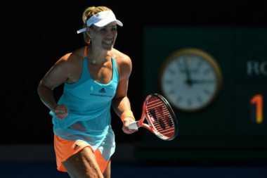 Ulang Tahun, Angelique Kerber Melaju ke Babak Ketiga Australia Open 2017