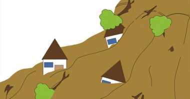 Terdampak Longsor, Satu Rumah di Desa Boyolali Hancur