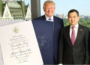 Hary Tanoe jadi Tamu Kehormatan Donald Trump, Begini Undangan Pelantikan Presiden AS