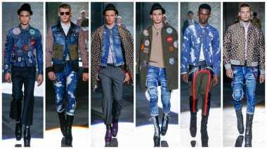 TREN FASHION 2017: Denim dan Smart Casual Masih Menjuarai Fesyen Pria Jepang
