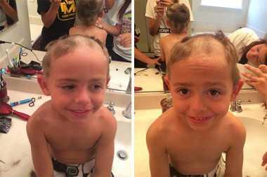 HOT THREAD (4): Ngakak, Begini Jadinya kalau Anak Kecil Potong Rambut Sendiri