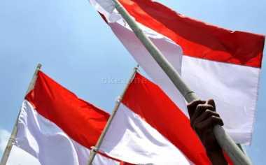Polisi Buru Pembawa Bendera Merah Putih yang Dicoret 'Mettalica'