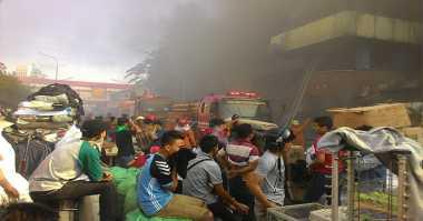 Kebakaran Pasar Senen, Dinsos DKI Dirikan Posko
