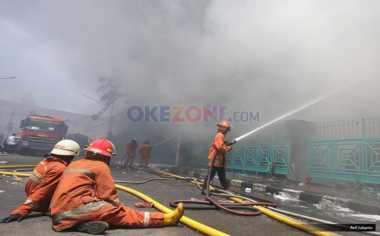 Selidiki Kebakaran, Polsek Senen Periksa Tiga Saksi