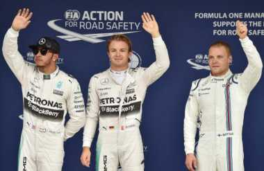 Bos Mercedes Yakin Hubungan Kurang Harmonis Rosberg-Hamilton Takkan Terjadi Pada Bottas