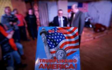 Sejumlah Tempat di Rusia Rayakan Inaugurasi Trump