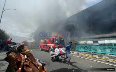 Antisipasi Penjarahan, 178 Personel Polisi Bersiaga di Pasar Senen