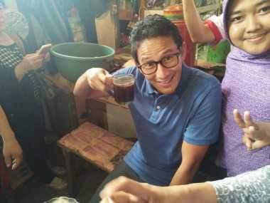 Sandiaga Siap Bantu Pedagang Pasar Senen Bisa Pindah ke Blok M