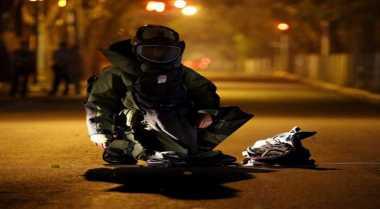 Saringan Oli Dikira Bom Bikin Sibuk Polisi