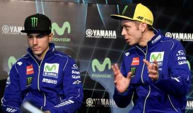 Rossi Tak Sabar Lihat Penampilan Lorenzo, Vinales & Iannone