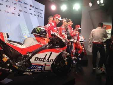 Ducati Luncurkan Motor Anyar untuk MotoGP 2017