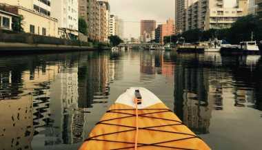 Nikmati Keindahan Tokyo dengan Menaiki Kayak