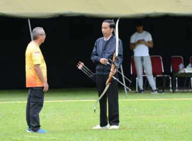 Demi Tampil Maksimal di Kejuaraan Memanah, Jokowi Panggil Pelatih