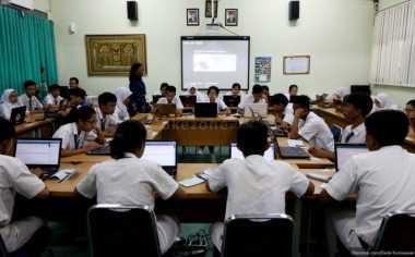 Sekolah di Sumbar Gelar Simulasi Jelang UNBK