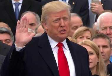 INAGURASI PRESIDEN AS: Trump Tegaskan Kembali Janji Kampanyenya