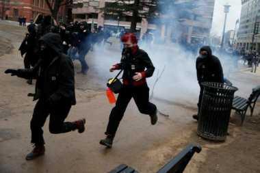 Rusuh di Washington, 95 Orang Ditahan Polisi